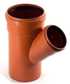PVC odbočka kanalizáčná 45°